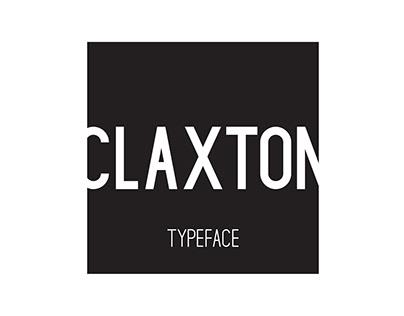 Claxton   Free Typeface