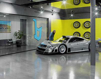 BESPOKE AUTO HAUS   CGI