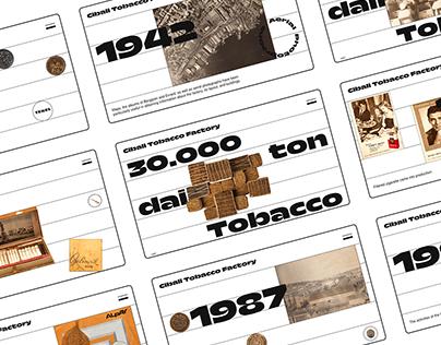 Cibali Tobacco Factory Website Design