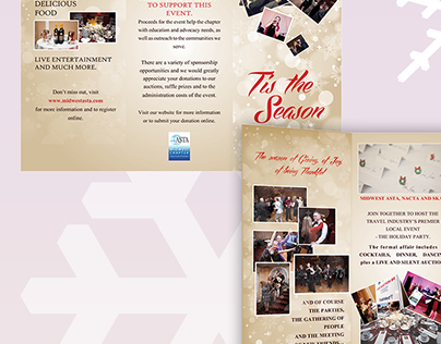 Midwest Asta Holiday Event Collateral