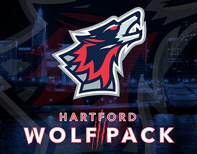 Hartford Wolf Pack Rebrand