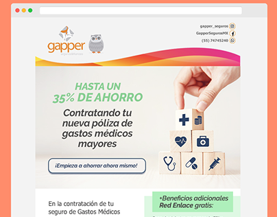 GAPPER MX - Redes sociales / Email marketing