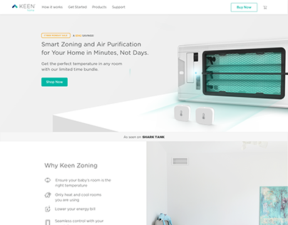 Keenhome.io- Process Wireframes