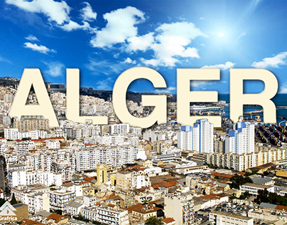 Alger la blanche   Photomontage   iGrafrica ▲