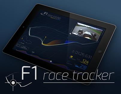 F1 race tracker