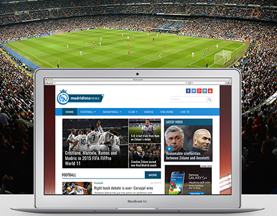 Madridista News Online News Portal Website