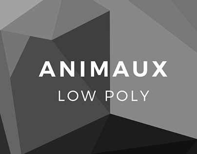 Animaux Low Poly | Graphisme