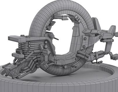Gantz - Modeling 3D
