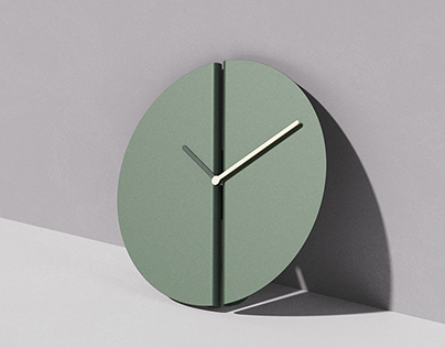 "split - ""the easiest clock to hang"""