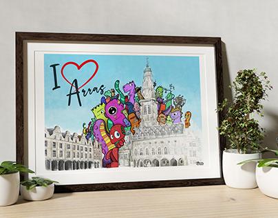 I love Arras