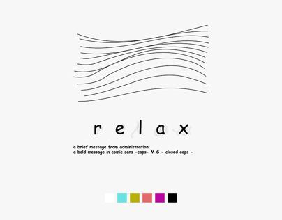 comicSANS : relax.