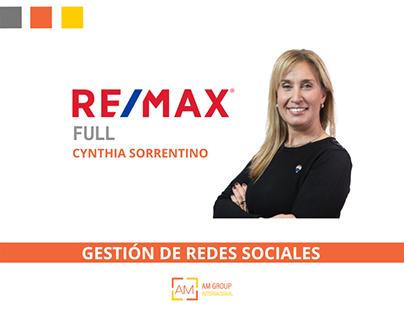 CYNTHIA REMAX - RRSS