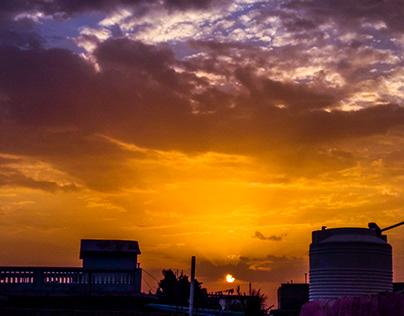capturing evening
