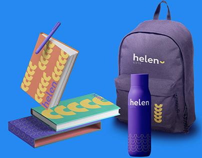 Creative for Helen Media Agency