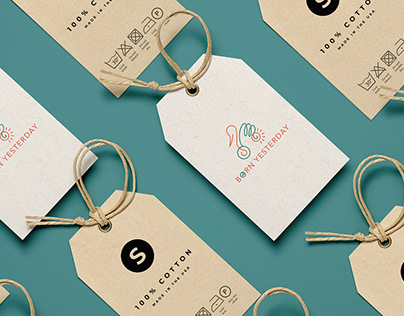 Born Yesterday Brand Identity