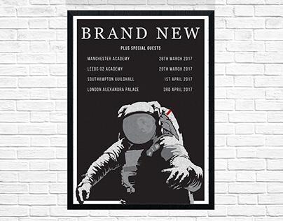 Brand New 2017 UK Tour