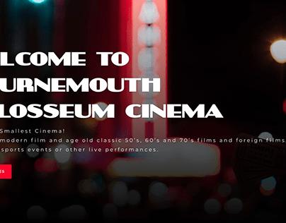 Bournemouth Colosseum Cinema - The UK's Smallest Cinema