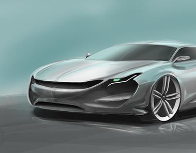 Concept Car Render