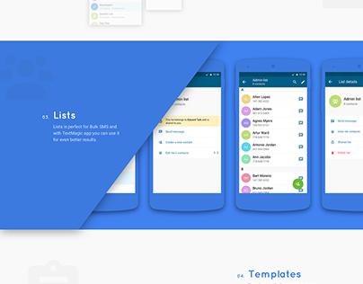 Messaging Material App