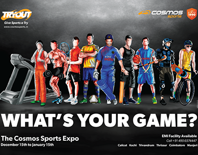 TryOut Sport Expo Campaign - Cosmos Sports