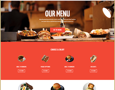 Burger website