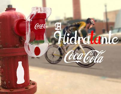 El hidraTAnte Coca Cola
