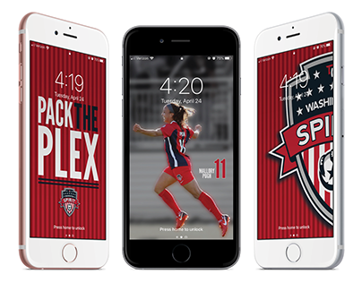 Washington Spirit iPhone Wallpaper's