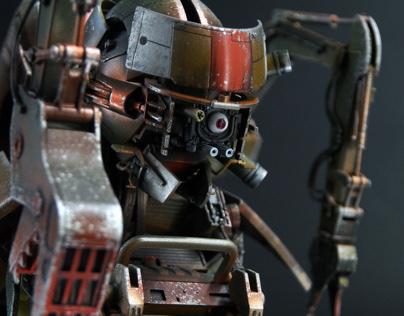 The Construct: A 1/6 Synthetic Human Custom