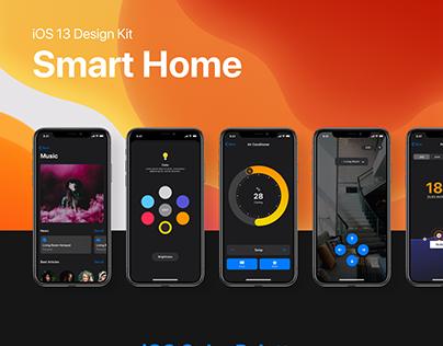 Deep - Smart Home iOS 13 UI Kit