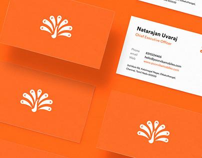 Poorvika Mobiles Brand Identity Design