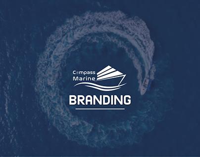 Compass Marine Brand Identity