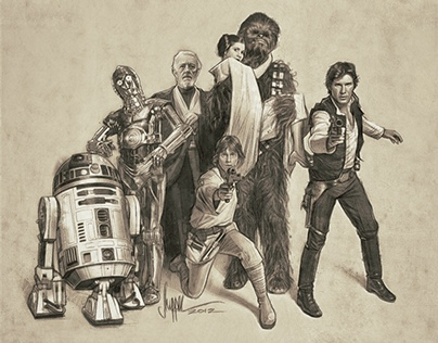 Star Wars: The Gangs All Here