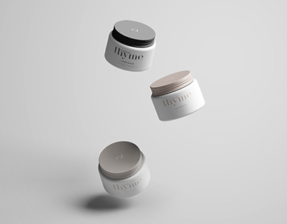 Common Thyme - Beauty Product Packaging Design
