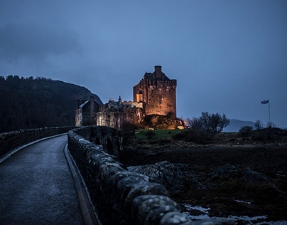 Into Scotland