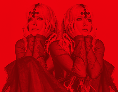 I FELL THE LOVE WITH THE DEVIL / SINGLE COVER CONCEPT