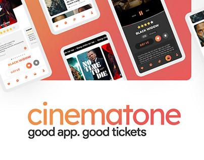 Cinematone App UI/UX Design