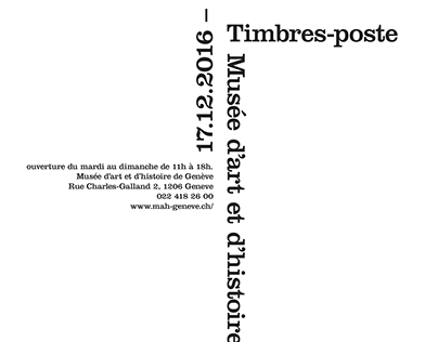 Timbre poste suisse
