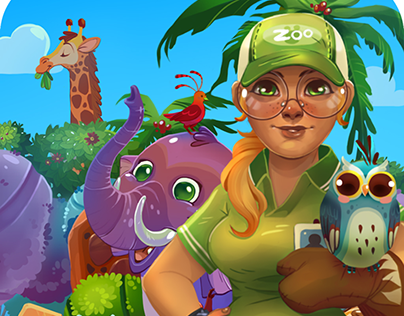 Zoo Puzzle match3 game