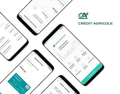 Crédit Agricole Mobile App