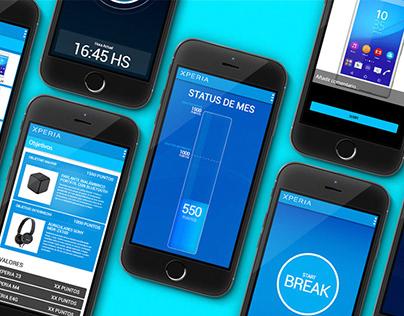 SONY APP - UX & UI for App