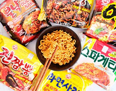 Mì Hàn Quốc Ăn Liền Chính Hiệu - Thưởng Thức Ngay