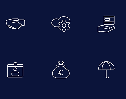 Web Summit — Startup Industry Icon Set