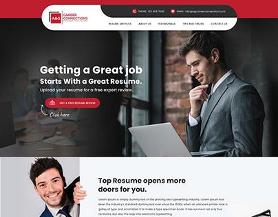 Resume Services Website