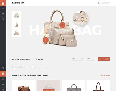 Bag Accessories eCommerce Template