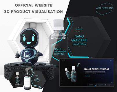 Web design & 3D product visualisations