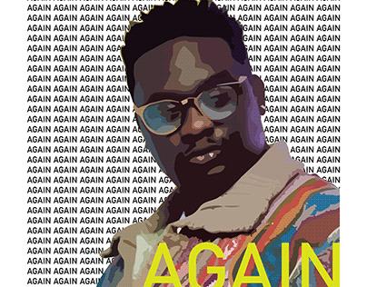 'Again' Album Art