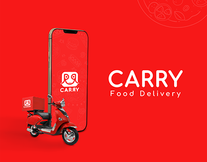 Carry - Food Delivery App Branding