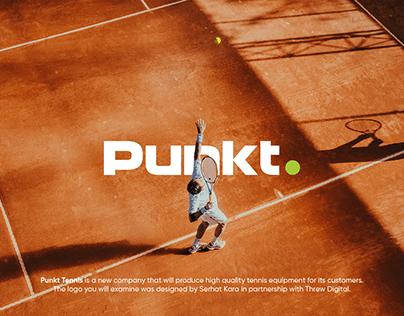 Logo & Branding for Punkt Tennis