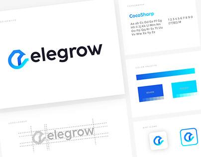 Elegrow logo design