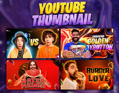 Viral youtube thumbnails